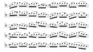 J.S.バッハ作曲 「無伴奏チェロ組曲 第1番 」