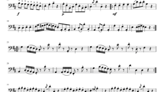 F.ゴセック作曲 「ガボット」