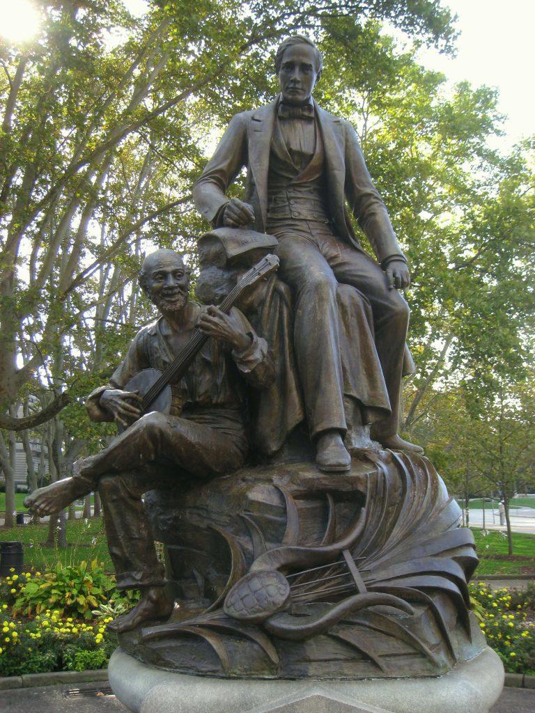 Stephen Foster の銅像