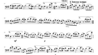 L.ベートーヴェン作曲 「ト調のメヌエット」